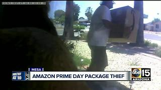 Thief takes advantage of Amazon Prime Day - Video