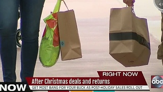 After Christmas deals and returns - Video