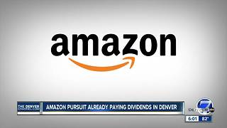 Battle for Amazon benefits Denver whether or not city chosen for headquarters - Video