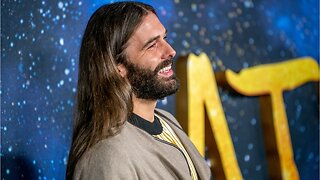 Jonathan Van Ness Revealed Products, Air-Dried Wavy Hair