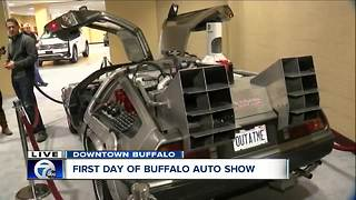 Back to the Future at the 2018 Buffalo Auto Show - Video