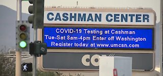 Cashman Center COVID-19 vaccination site closing for the weekend