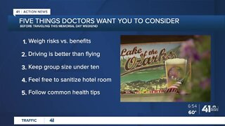 Tips for traveling during the holiday weekend