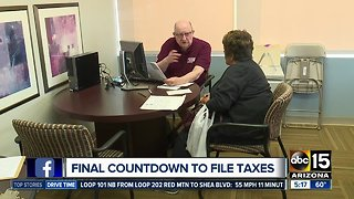 Final countdown to file taxes