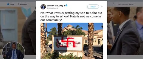 Swastika painted on Vegas church sign