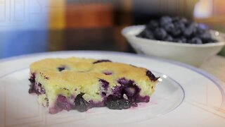 What's for Dinner? - Blueberry Cobbler