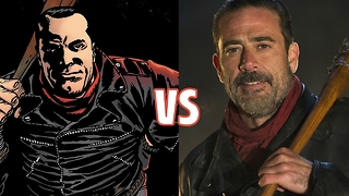 THE WALKING DEAD: Differences Between Comics and TV Show - Video