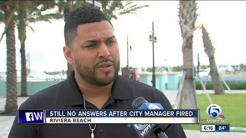 Mystery about why Riviera Beach city manager was fired