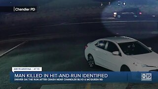 Man killed in Chandler hit-and-run identified