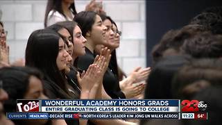 Wonderful College Prep Academy Honors Graduates