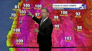Scott Dorval's On Your Side Forecast: Thursday, August 3, 2017 - Video