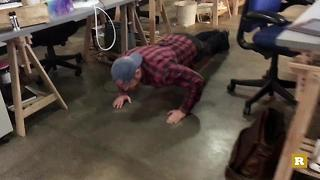 Rare Goes Yellow: Rare's Austin office takes on the 22 push-up challenge | Rare Military