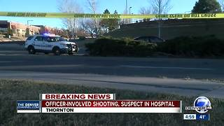 Car theft suspect shot by Thornton Police during foot pursuit