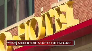 Should hotels screen for firearms in the wake of the mass shooting in Las Vegas? - Video