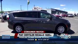 Fiat Chrysler recalls minivans - Video