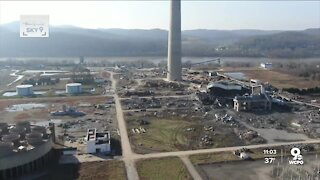 Search for missing workers continues at collapsed power plant
