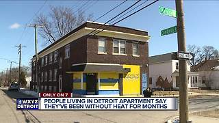 Detroit responds to WXYZ report on apartment residents without heat - Video