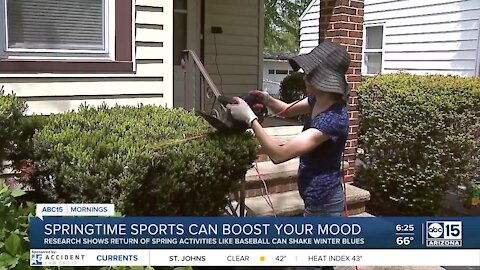 The BULLetin Board: Springtime sports and activities can boost your mood