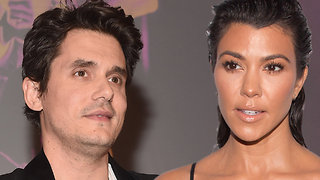 John Mayer FLIRTING WIth Kourtney Kardashian!