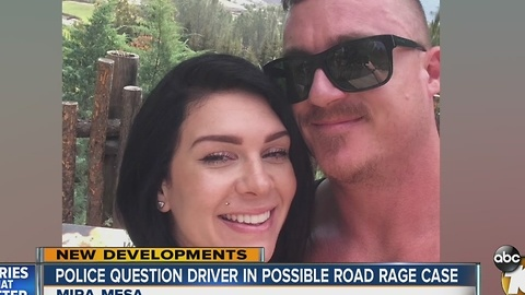 Police question driver in possible road rage case