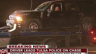 Driver Leads Tulsa Police On High Speed Chase - Video