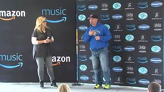 Garth Brooks chokes up talking about celebrating a big milestone at Indianapolis concert while also keeping the tragedy from Las Vegas at heart - Video