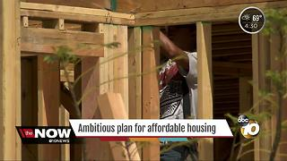 Ambitious plan for affordable housing