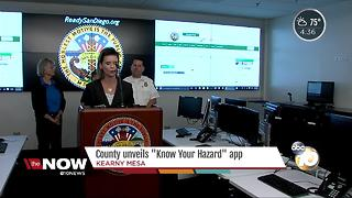 County unveils 'Know Your Hazard' app - Video