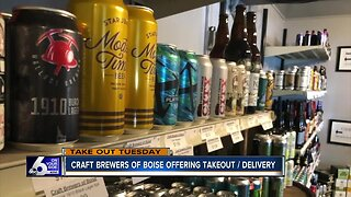 Takeout Tuesday: Craft Brewers of Boise offering takeout and delivery