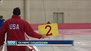 100 days until the 2018 Winter Olympic games - Video
