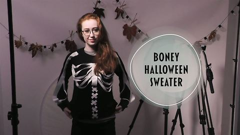 This Halloween sweater idea will chill you to the bone