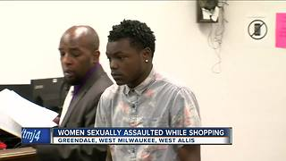 Man charged with sexually assaulting female shoppers at SE Wisconsin stores - Video