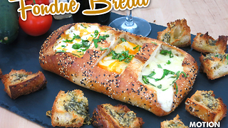 How to make a fondue bread bowl - Video