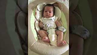 Adorable Baby Has the Cutest Reaction to His Own Hiccups - Video