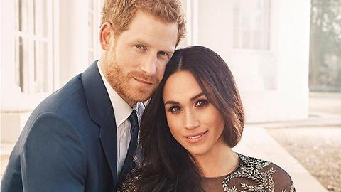 Official Photos Of Prince Harry And Meghan Markle's Royal Engagement
