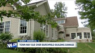 West Seneca to take legal action over Burchfield issues - Video