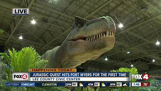 Jurassic Quest comes to Southwest Florida - 7:30am live report - Video
