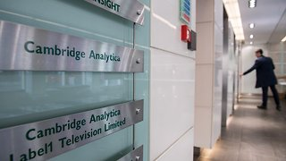 Cambridge Analytica's Acting CEO Is Stepping Down - Video