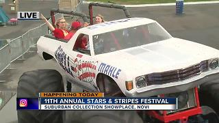 Annual Stars and Stripes festival in Novi - Video