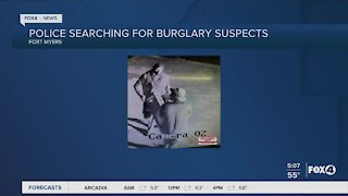 Fort Myers Police search for Burglary suspects
