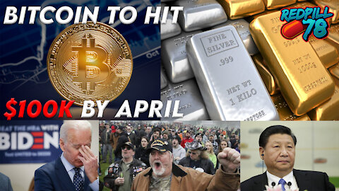 Bitcoin 100k by April??? Silver To The Moon!