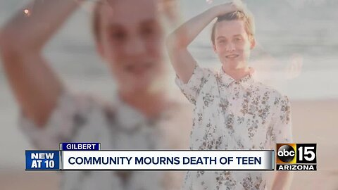 16-year-old killed in crash over the weekend in Gilbert; community in mourning