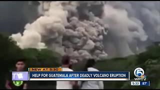 A local effort to help victims of volcano in Guatemala - Video