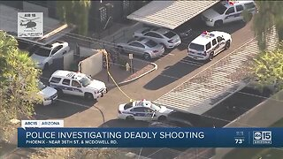 Deadly shooting under investigation at apartment complex