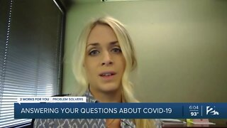 Answering your questions about COVID-19