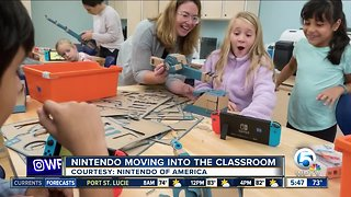 Nintendo hoping to become a fixture in schools - Video