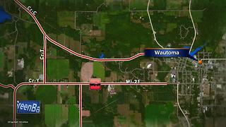 Fatal crash in Waushara County - Video