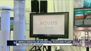 The ripple effect of potential Foxconn plant - Video