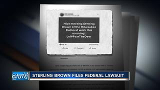 Milwaukee police chief, city, officers named in Sterling Brown lawsuit