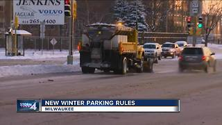 City sets new winter parking regulations this year - Video